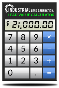 Calculate The Value Of Your Sales Leads.